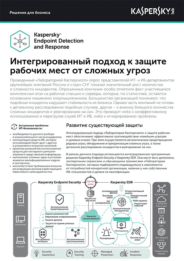 Kaspersky Endpoint Detection and Response