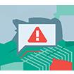 Предупреждает о вредоносных веб-сайтах